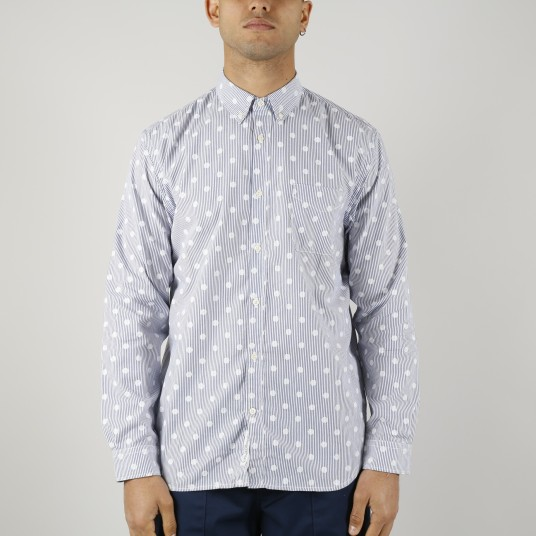 STD DOTS SHIRT FRENCH POPLIN