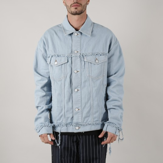 DENIM FRAYED NEW MAN