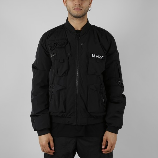 MULTIPOCKET BOMBER BLACK