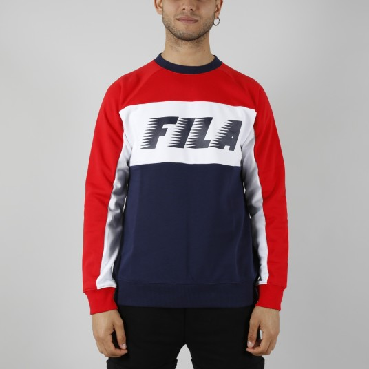 LAYTON COLOUR BLOCK SWEATSHIRT