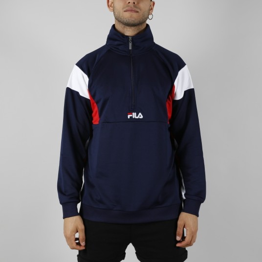 KEITH HALF ZIP TOP
