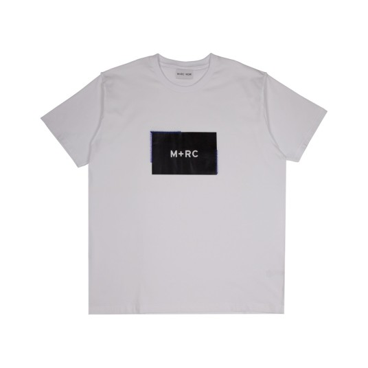 WHITE BOX LOGO TEE