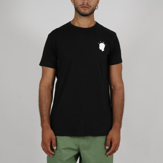 RF LEWIS CAPSULE BLACK T-SHIRT