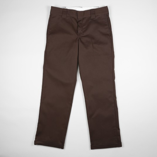 S/STGHT WORK PANT CHOCOLATE